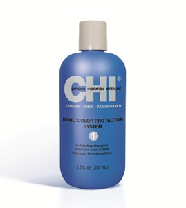 CHI IONIC COLOR PROTECTOR SYSTEM  SHAMPOO, 350 ml