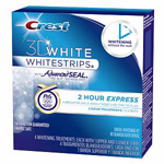 CREST 3D WHITE WHITESTRIPS, EXP.  2-HOUR EXPRESS