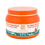 /306/ H&B  Carrot Oil Hair Mask Enriched With Dead Sea Mud, 250ml