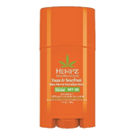 HEMPZ  Yuzu & Starfruit Daily Herbal Hydrating Stick SPF 30, 45 g